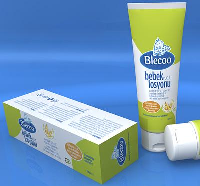 Blecoo bebek - vücut losyonu