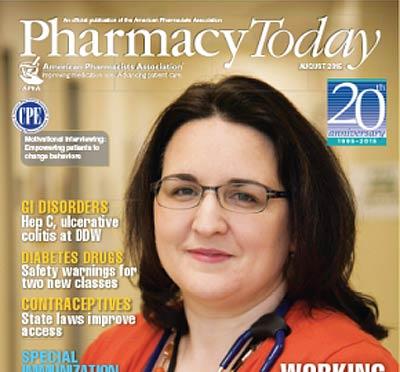 Pharmacy Today Ağustos sayısında OTC